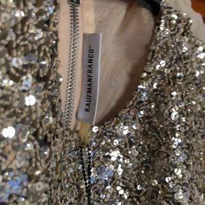 Raven Kauffman Tops - Glitter cocktail party shirt